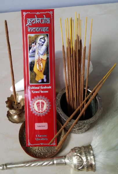 Tube Rose Incense Sticks - 20 grams